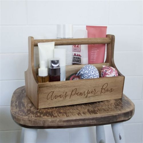 Personalised Spa Caddy